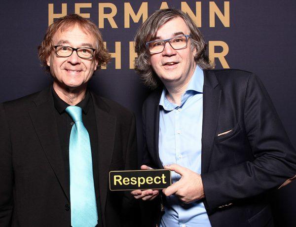 Jürgen und Hermann Scherer