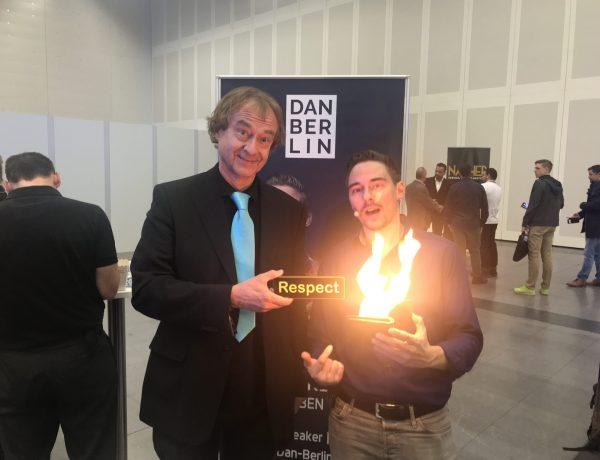Respekt und Magie bei Dan Berlin